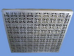 aluminum casting grating panel