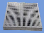 aluminum perforated cast floor tiles
