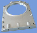 rear oil seal aluminum casting