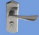aluminum door lock handle