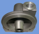 aluminum oil filter base
