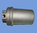 cast aluminum oil filter tank