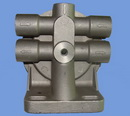 fuel oil filter head cast aluminum