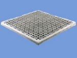 cast aluminum grating tiles