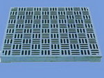 oriface plate aluminum perforated panels