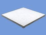 solid cast aluminum floor tiles panels