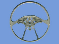 automotive steering wheel magnesium