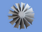 turbine stainless steel casting