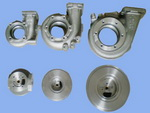 turbocharger spare parts casting